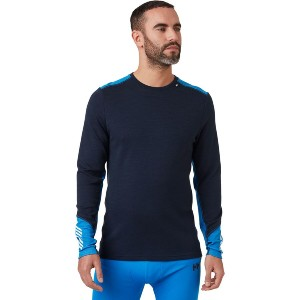Helly Hansen Lifa Merino Midweight Crew Top - Best Base Layers for Heavy Sweating: Odor-Resistance Base Layer