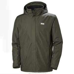 Helly Hansen Dubliner Insulated Jacket - Best Raincoats for Cold Weather: Adjustable hood