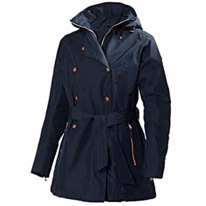Helly Hansen 62383 Women's Welsey Trench Coat - Best Raincoats Amsterdam: Looks great, works great