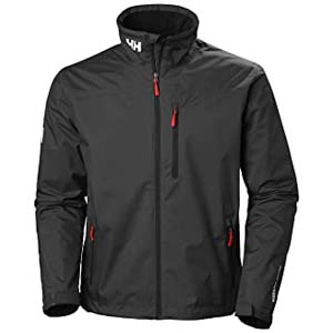 Helly Hansen Men's Crew Midlayer Jacket - Best Raincoats for Men: Available sizes up to 5XL!