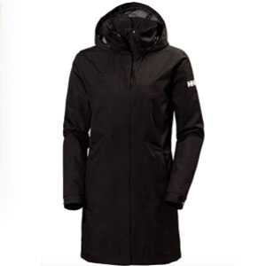 Helly Hansen Store Aden Long Shell Waterproof Jacket - Best Raincoats for Cold Weather: Two hand warmer pockets
