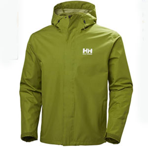 Helly Hansen Store Breathable Rain Jacket With Hood - Best Raincoats for Golf: Breathable Raincoat Jacket