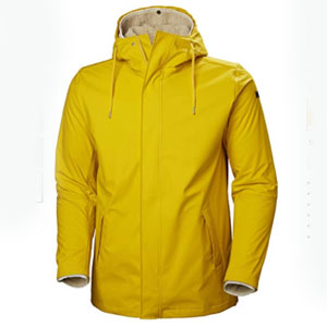 Helly Hansen Store Raincoat Jacket With Removable Warm Pile Liner - Best Raincoats for Cold Weather: Raincoat with Removable Pile Liner
