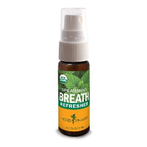 Herb Pharm Breath Refresher - Best Mouth Spray for Bad Breath: Compact Size to Fit in a Pocket