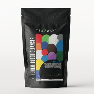 TeaSwan Herbal Blood Cleanser Tea - Best Tea for Sleep: Help Ease Your Mind