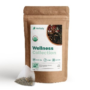 Herbaly Herbaly Wellness Collection - Best Tea to Drink at Night: Reduce Anxiety