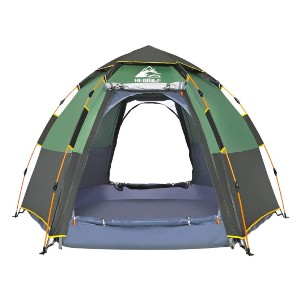 Hewolf Waterproof Instant Camping Tent  - Best Two-Person Camping Tents: Hexagon Shape Tent