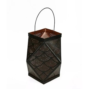 Mind Reader Hexagon Hanging Lantern - Best Candle Lanterns: Equipped with a Handle