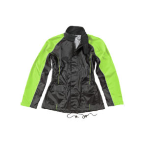 JOE ROCKET Hi-Viz Neon RS-2 2-Piece Rainsuit  - Best Raincoat for Motorcycle Riders: For Your Androgynous Look