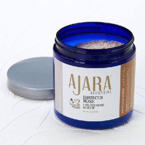 Ajara Hibiscus Rose Enlivening Scrub - Best Body Scrub for Dry Skin: Treat Yourself Today!