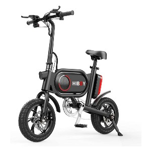 Hiboy P10 Folding Electric Bike for Adults - Best Electric Scooter for Adults 250 lbs: You can sit!