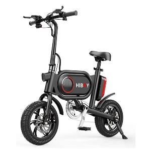 Hiboy P10 Folding Electric Bike - Best Electric Scooter with Seat: Works like a champ