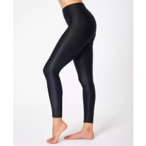 Sweaty Betty High Shine High Waisted Leggings - Best Leggings High Waist: Glossy Fabric is Super Stretchy and Breathable