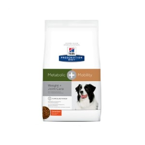 Hill's Prescription Diet Metabolic + Mobility Weight & Joint Care Chicken Flavor Dry Dog Food - Best Dog Foods for Joint Health: Manage Joint and Weight Health