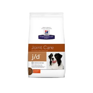 Hill's Prescription Diet j/d Joint Care Chicken Flavor Dry Dog Food - Best Dog Foods for Joint Health: Rather Big Bites Healthy Joint and Weight