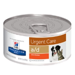 Hill's Prescription Diet a/d Urgent Care with Chicken Canned Dog & Cat Food - Best Cat Food for Indoor Cats Vet Recommended: Calorically Rich