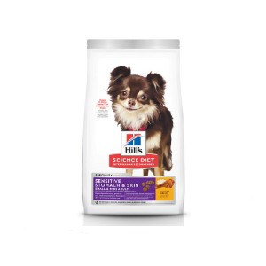 Hill's Science Diet Sensitive Stomach & Skin Small & Mini Breed Chicken Recipe Dry Dog Food - Best Dog Foods to Buy: Real Animal Protein