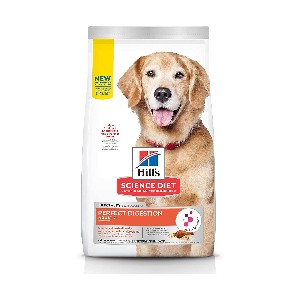 Hill's Science Diet Dog Dry Food Perfect Digestion - Best Weight Gainer Dog Food: High Quality Chicken is the #1 Ingredient