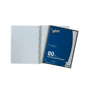 Hilroy Notebook - Best Notebooks for College: Has 3-Hole Punched for Refillable