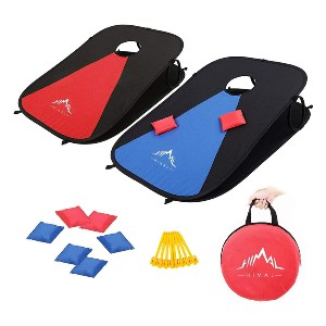 Himal Collapsible Portable Corn Hole Boards  - Best Cornhole Boards: Collapsible and foldable