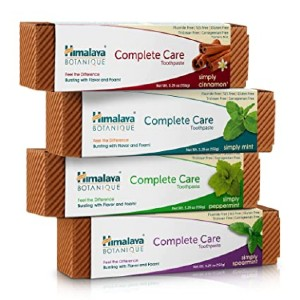 Himalaya Botanique Complete Care Toothpaste - Best Toothpaste to Remove Plaque: Best for big fams