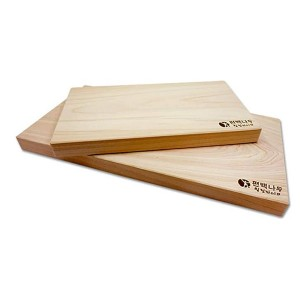 Healing Life Hinoki Cutting Board - Best Cutting Boards for Japanese Knives: You'll get two