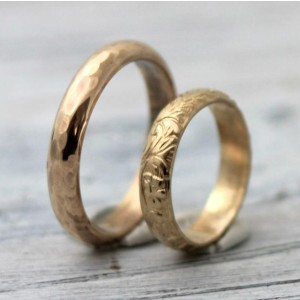 palefishny His and Hers Couples Rings - Best Couple Rings for Engagement: Gold on a budget