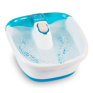 Homedics Bubble Mate Foot Spa - Best Foot Spa to Use with Epsom Salt: Nice toe-touch control