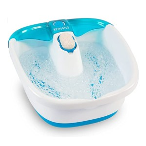 Homedics Bubble Mate Foot Spa - Best Foot Spa for Gout: Gently rubbing your feet