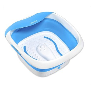 Homedics  Collapsible Footbath - Best Foot Spa for the Money:  Massages feet gently