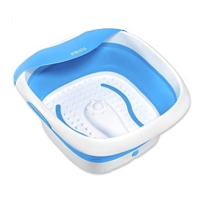 Homedics Collapsible Footbath - Best Foot Spa for Cracked Heels: Best for on-the-go