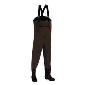 Hodgman Caster Neoprene Cleated Bootfoot Chest Waders  - Best Saltwater Waders: Keeps your footing