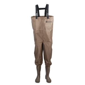 Hodgman Mackenzie Cleat Chest Bootfoot Fishing Waders  - Best Saltwater Waders: Ideal for novice anglers