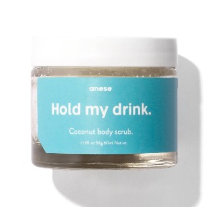 anese Hold my drink. - Best Body Scrub for Ingrown Hairs: Deeply Moisturizing Coconut Scrub