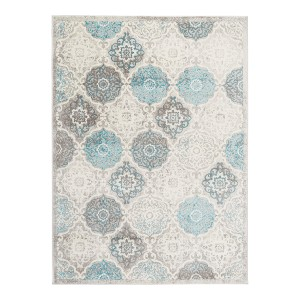 Home Dynamix Boho Andorra Bohemian Area Rug (HD7585-705)  - Best Rug for Under Kitchen Table: Best price