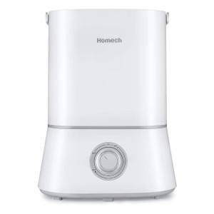 Homech Quiet Ultrasonic Humidifiers - Best Humidifier Easy to Clean: 360° revolving nozzle