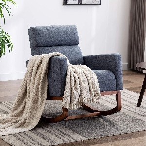 Homrest Rocking Chair - Best Rocking Chair for Living Room: Large Rocking Chair