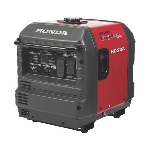 Honda EU3000iS  - Best Electric Generators: Built-in Safety and Convenience