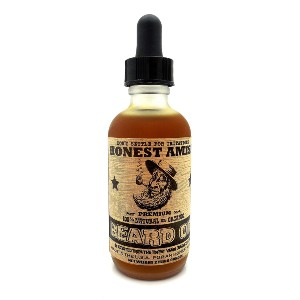 Honest Amish Premium Beard Oil - Best Beard Oil for Growth: Relieves Itch and Helps New Growth