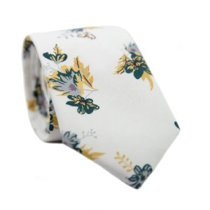 DAZI Honeysuckle - Best Ties for Checkered Shirts: Nothing to doubt