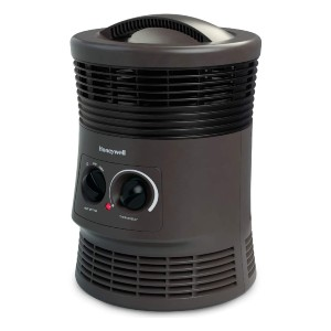 Honeywell 360 Degree Surround Heater with Fan Forced Technology - Best Space Heater Cheap: All-around heat output