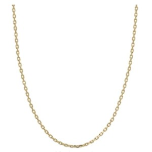 Honolulu Jewelry Cable Chain Necklace - Best Chain Necklace: Shining Cable Chain Necklace