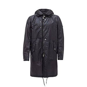 STONE ISLAND SHADOW PROJECT Hooded water-resistant parka - Best Raincoats Under 1000: Optional Internal Straps