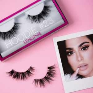 Huda Beauty Hoodie #23 - Best Lashes for Monolids: Ultra Effects