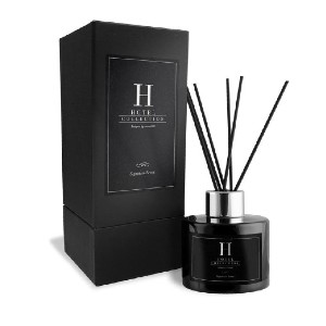Hotel Collection Black Velvet Reed Diffuser - Best Oil Reeds Diffuser: Sultry and Smoky Scent