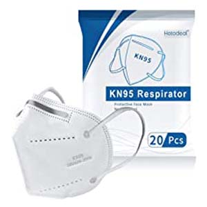 Hotodeal KN95 Face Mask - Best Masks for COVID: 3D masks for more breathing space