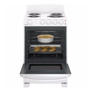 Hotpoint 24 in. 2.9 cu. ft. Electric Range Oven - Best Electric Ranges Under 1000: Heavy-duty oven racks