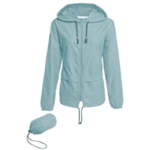 Hount Women's Lightweight Hooded Raincoat - Best Raincoats Amsterdam: Lightweight and manageable