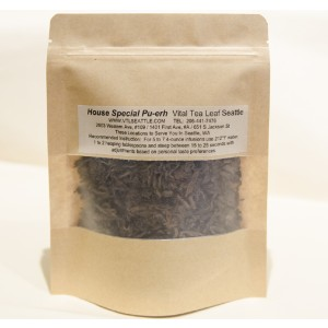 Vital Tea Leaf House Special Pu-erh  - Best Tea for Weight Loss:  Smooth Finish with a Long Lingering Aftertaste
