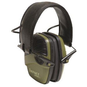 Howard Leight Impact Sport - Best Shooting Hearing Protection: Amplifies Ambient Sound to Avoid Isolation
